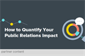 How to Quantify Your Public Relations Impact