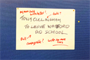 A fond farewell from Tony Cullingham's former students