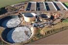 Evonik's 500th biogas-upgrading plant under construction