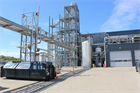 Feedstock arriving at Quantafuel's waste plastic-to-oil gasification plant