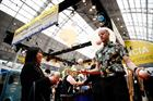 In pictures: Business Travel Show and Travel Technology Europe open with Facebook Q&A