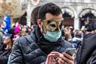 Venice Carnival cut short as Coronavirus experts warn of global 'tipping point'