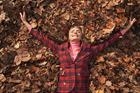 Watch: Supermodel Jodie Kidd leaf jumps into Boden Autumn campaign