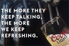 Watch: Coors Light literally lights up when Bud Light is negative