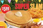 Why was Denny's press release stunt such a Grand Slam success?