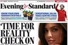 Is the Evening Standard selling positive coverage by the pound?