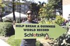 Schlotzsky's breaks Guinness World Record with paint-by-numbers mural