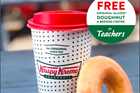 Krispy Kreme gave out 30 million free doughnuts during the pandemic