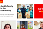 McDonald's rolls out microsite to show employees' COVID-19 response