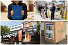 Gin bus shelter, missing dog stickers, refugee dictionary – Campaigns round-up