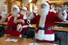 'Biggest challenge? Moving 15 Santas across London' - Behind the Campaign with The Ministry of Fun 'Santa School'