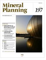 Mineral Planning issue 197, October 2021