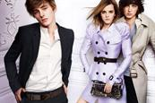 Burberry: rolls out spring/summer advertising campaign featuring Emma Watson