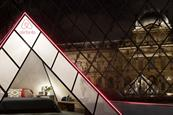 Airbnb offers travellers a night in the Louvre