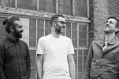 Amplify's creative team: Bhatt, Smith and Peckett