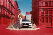 Antoni's previous creative work for Mercedes-Benz