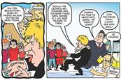 Beano sends special edition BeanOld comic to Downing Street