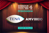 TENA and AMV BBDO have won Channel 4's Diversity in Advertising Award.