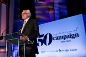 Heseltine leads Campaign's 50th-anniversary celebrations