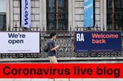 Coronavirus live blog: Piccadilly Lights to air Wimbledon highlights