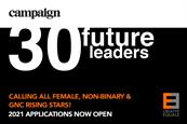 Campaign and Creative Equals call for 'Future Leaders' to put themselves forward