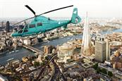 Deliveroo offers dining experience in the sky