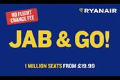 Ryanair hit with ban after 'Jab and go' gets third-highest number of complaints ever