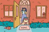 Bobo and Bladder adventure through Elvie's funny ads about female incontinence