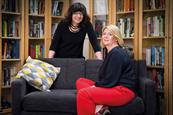 Breaking the glass wall: Authors Sue Unerman and Kathryn Jacob inspired the committee's name