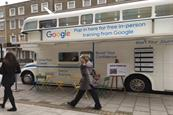 Google offers digital skills lessons on tour bus