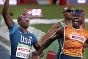 Paralympics body shows race from perspective of world's fastest blind sprinter