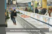 'Shopping on ice': Iceland installs in-store ice rink