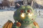 John Lewis' Edgar the dragon to gatecrash credits on ITV