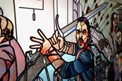 Tourism Ireland: Game of Thrones' Jon Snow depicted in stained glass