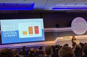 WPP's Karen Blackett speaking at the Deloitte/Enders Analysis conference