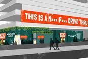 Meatless Farm to open pop-up drive-thru