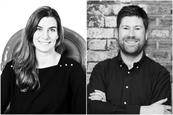 Manning Gottlieb OMD: the agency has promoted Clare Peters (left) and Paddy Adams (right)