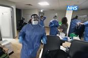 NHS introduces vivid imagery from front line of crisis in latest ad