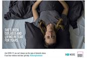 Anti-domestic-abuse campaign enlists people at home as allies during Covid-19