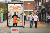 B&Q supplies a big impression outdoors