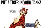 The history of advertising in quite a few objects: 43 Esso tiger tails
