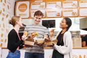 Quorn: guests can get a nugget kebab