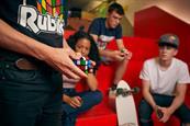 Rubik's marks 40 years with Queen Elizabeth II mosaic