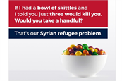 Skittles issues withering response to 'racist' refugees meme from Donald Trump Jr