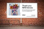 Uber thanks NHS workers with rides, meals and love letters