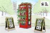WWF raises climate change awareness with 'nature phone box'