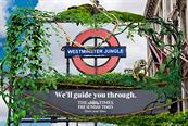 News UK turns Westminster station into jungle