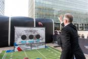 American Airlines targets commuters with sports lounge in Canary Wharf