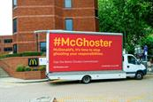 McDonald's treatment of chickens highlighted in film campaign