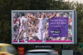 BT Sport's campaign for The Ashes was showcased perfectly in large-format